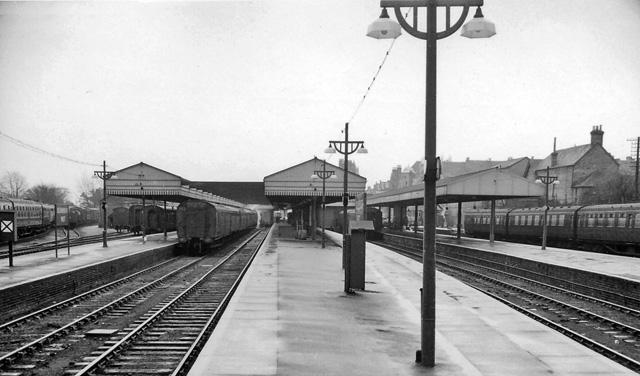 Bournemouth West Station, Westbourne