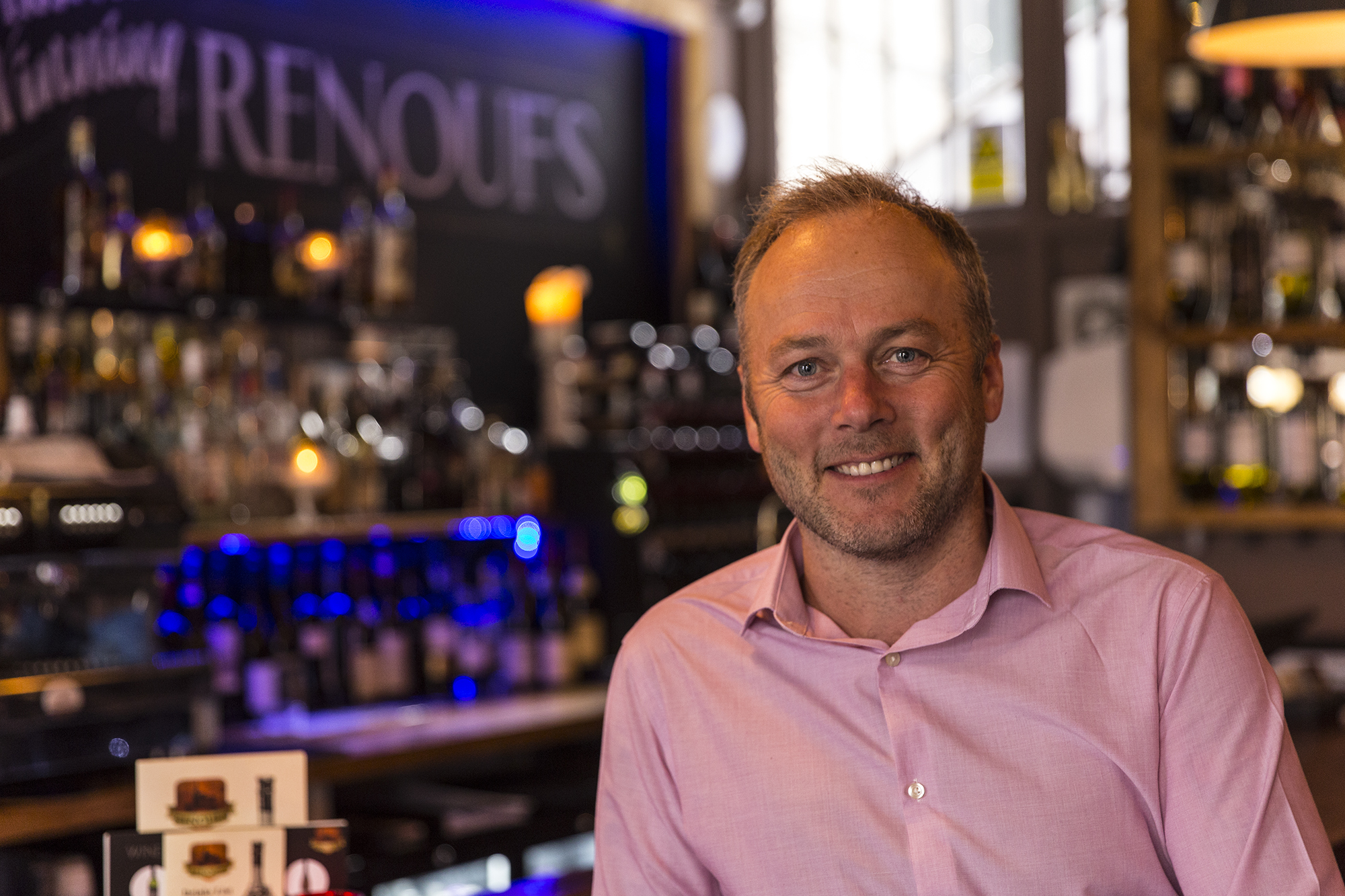 Trevor Ayling, Renoufs Cheese and Wine Bar